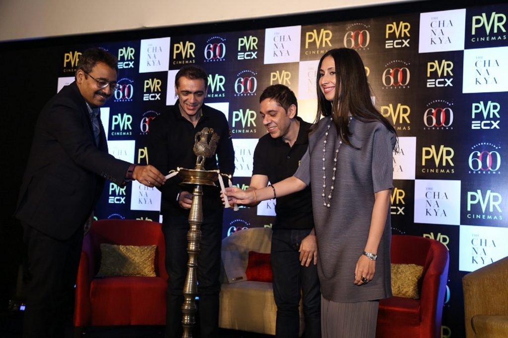 PVR ECX Chanakya opening ceremony. (photo: Glamourmantra)