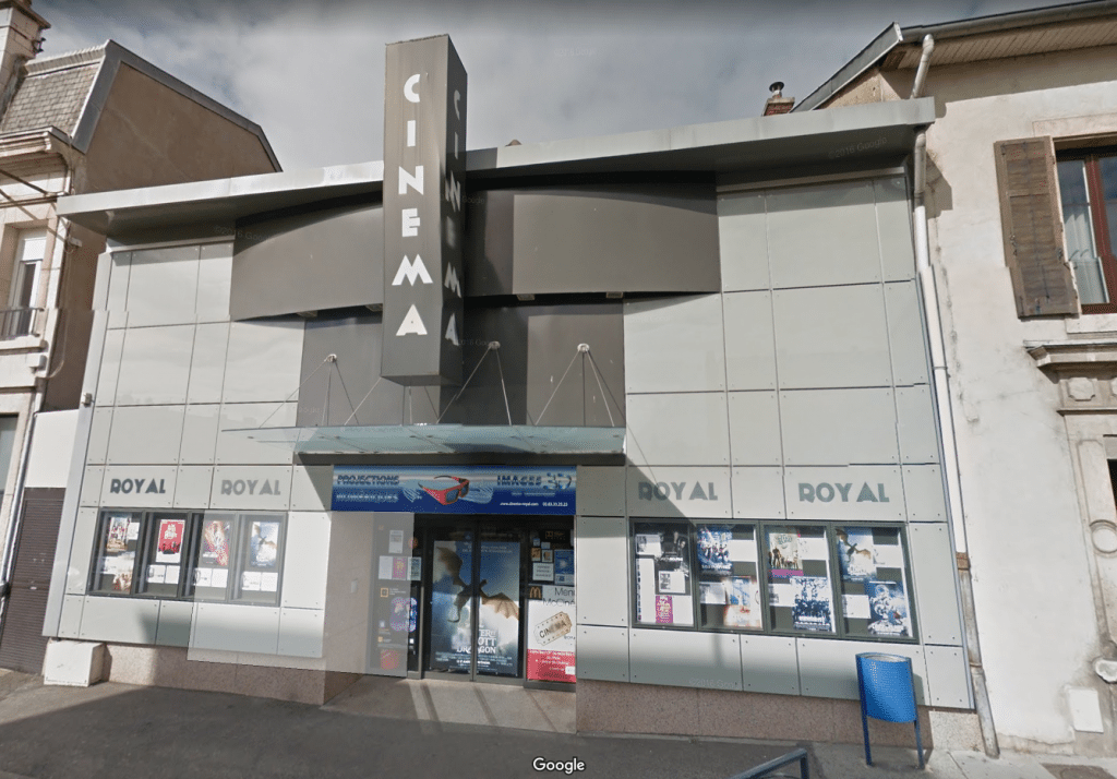 Cinéma Royal de Saint-Max - now with DTS:X. (image: Google Earth)