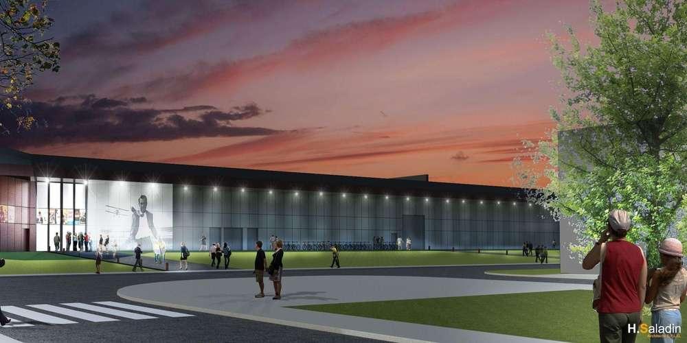The plans for Cinevillage. (image: Hubert Saladin Lormont Architects)
