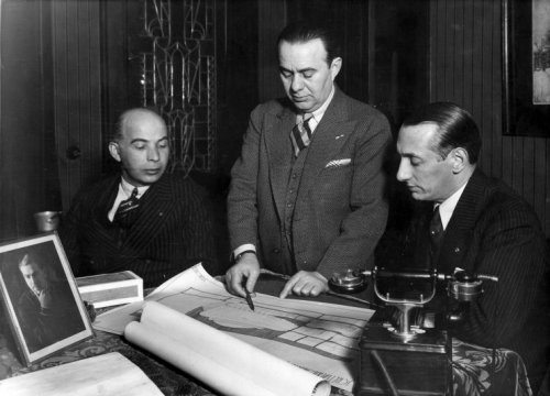 Herman Gerschtanowitz, Abraham Tuschinski and Herman Ehrlich