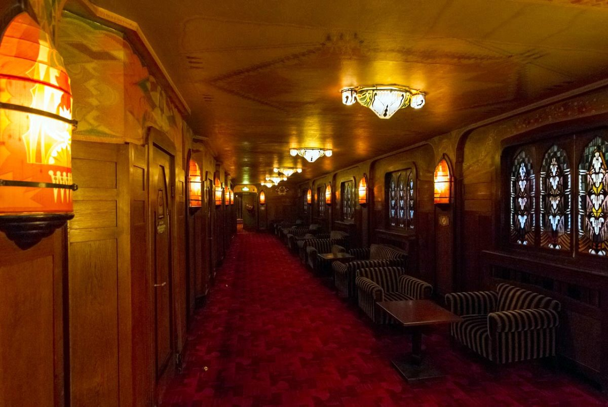 Tuschinski Theatre Ground Floor Hallway