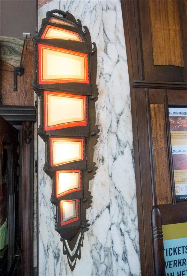 Tuschinski Theatre Box Office Lamp