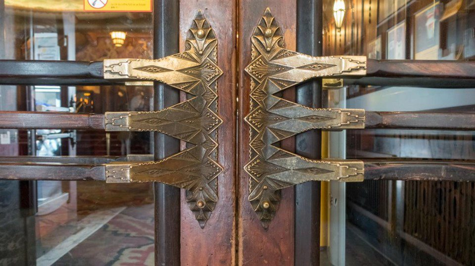 Tuschinski Theatre Main Entrance Door Handle