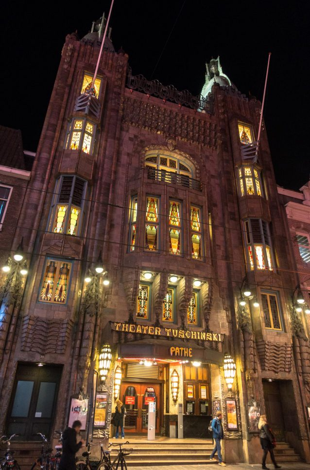 Tuschinski Theatre At Night