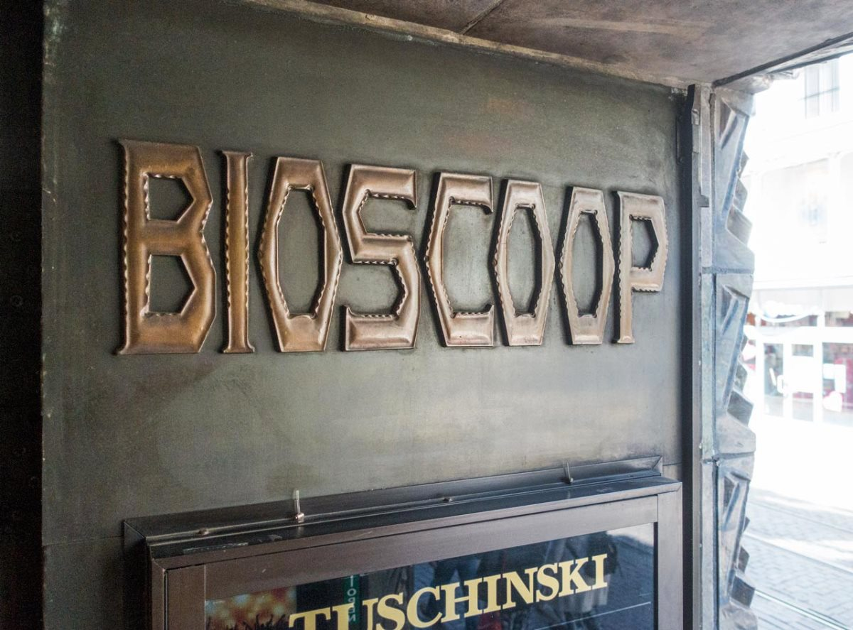 Tuschinski Theatre Bioscoop Sign