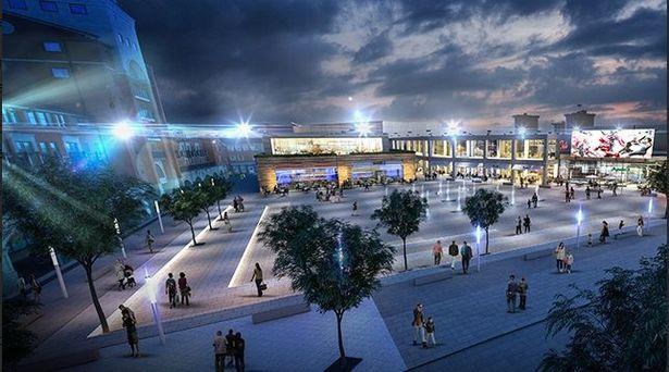 View of Westside Wolverhampton. (image: artist's impression)