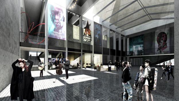 Paisley cinema plans. (image: Stallan-Brand architects)