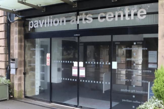 Pavilion Arts Centre Buxton (image: Buxton Advertiser)