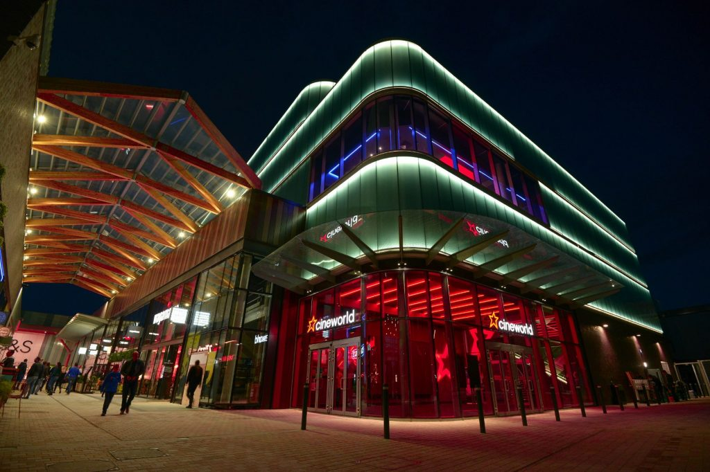 Cineworld Bracknell - even more impressive inside. (photo: Cineworld)