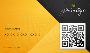 PVR Privilege card
