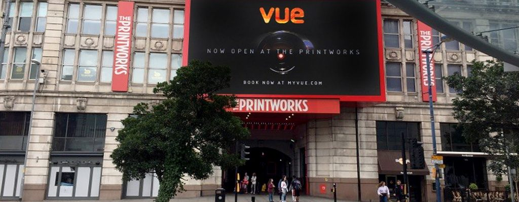 Printworks re-branded to Vue. (photo: thepdgroup)