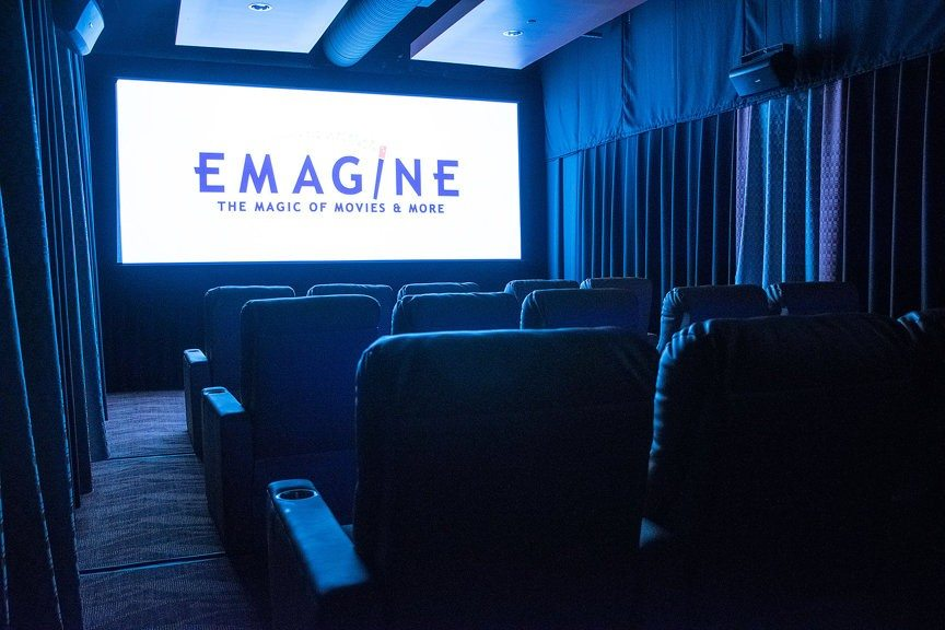 Emagine Screening Room. (photo: Tanya Moutzalias | tmoutzal@mlive.com)