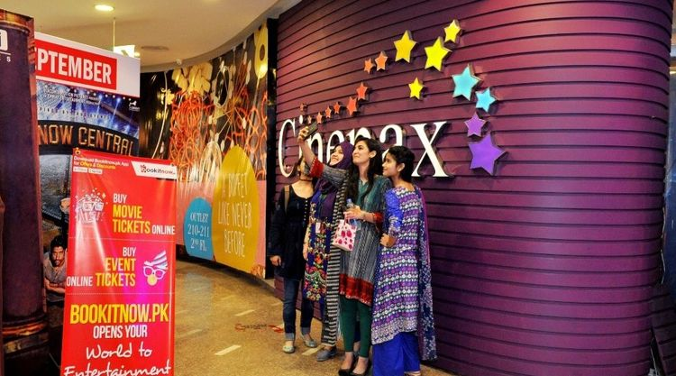 Cinepax customers. (photo: DealStreetAsia)
