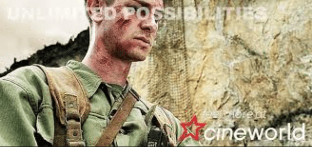 Unlimited Cineworld Andrew Garfield Hacksaw Ridge