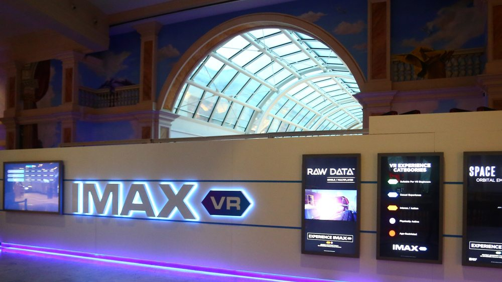 Odeon-Imax VR Centre in Manchester. (photo: Variety)