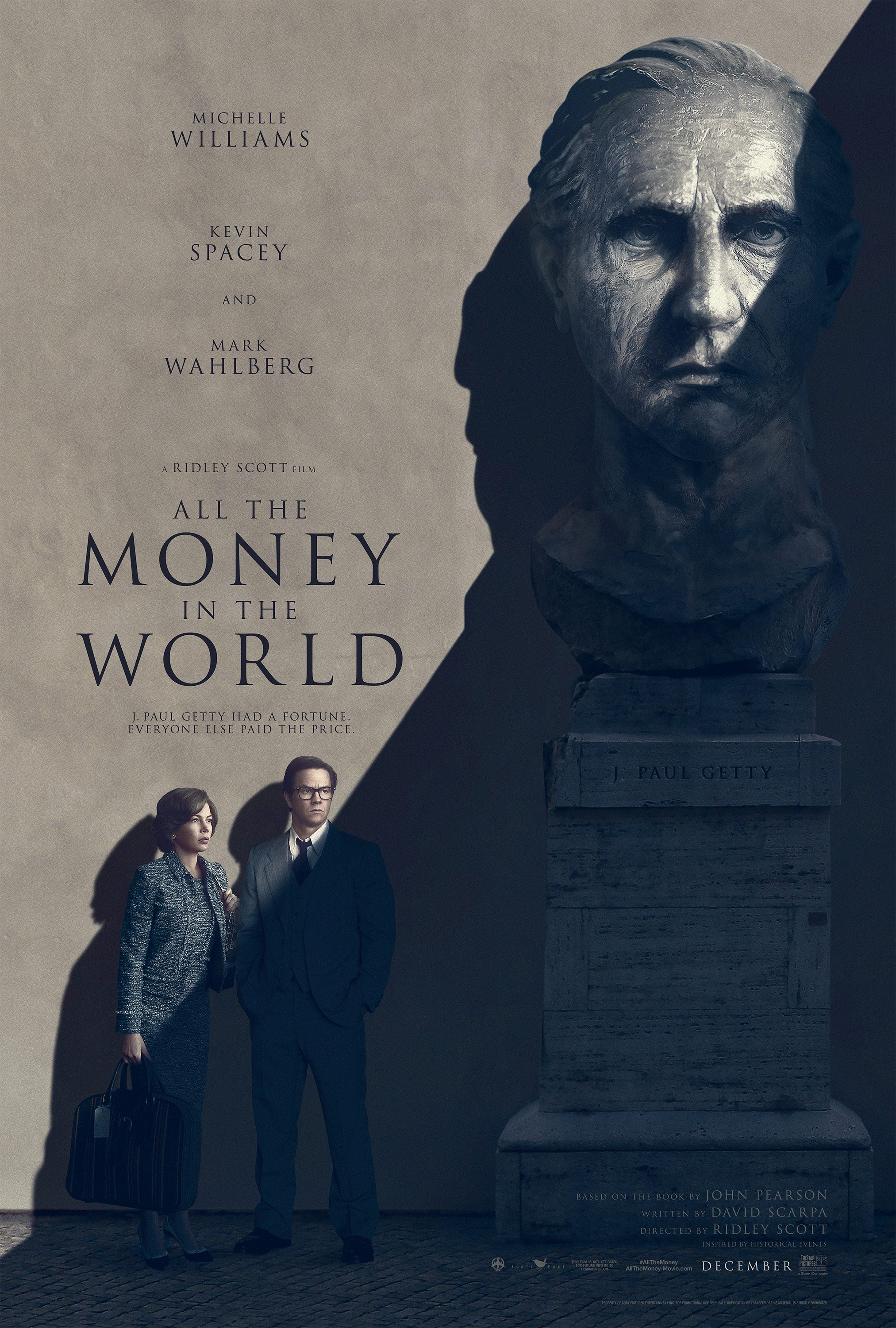 Original Poster for All The Money In The World