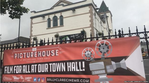 Picturehouse screening in Ballyclare. (photo: Ballyclare Cinema)