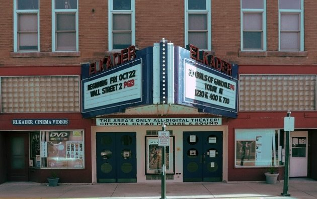 Elkader Cinema - not showing 'Star Wars'. (image: Cinema Treasures)