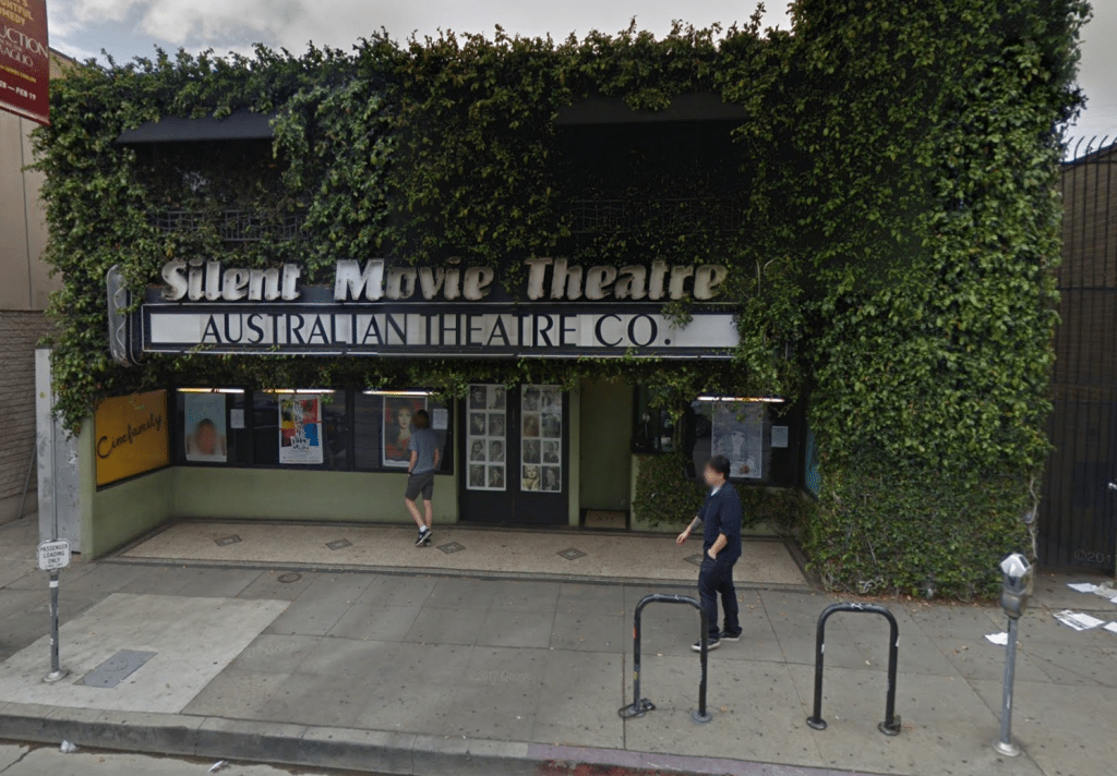 Silent Movie Theater is closing. (image: Google Earth)