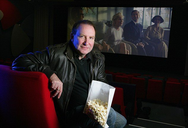 Neil White at Derby's Quad Cinema. (photo: Steve Hill)