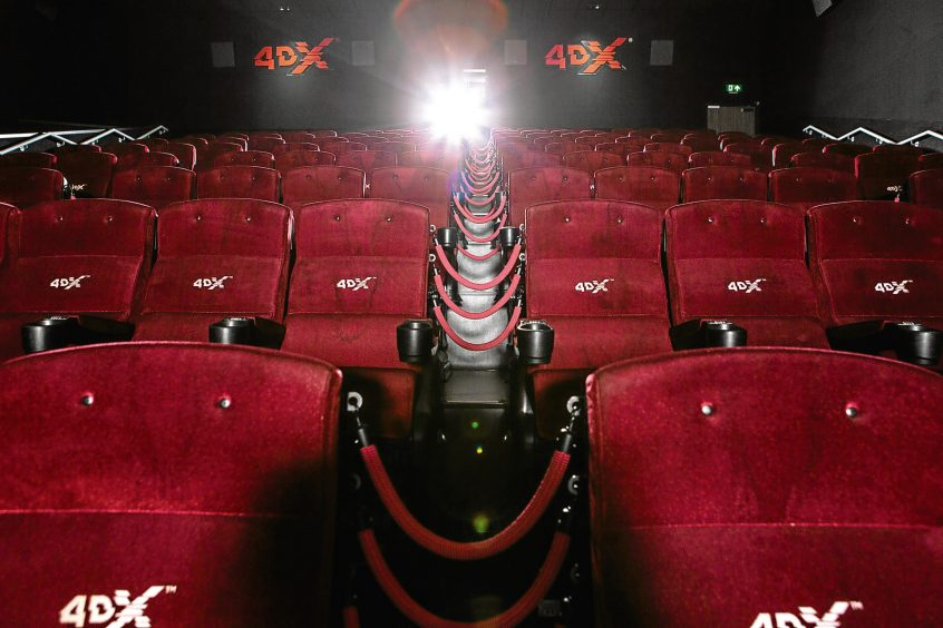 More 4DX for Cineworld in Scotland. (image: Aberdeen Evening Express)