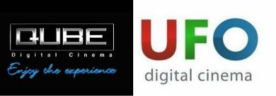 UFO Moviez Qube logos