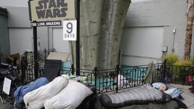 Fans will sleep in line for tickets - and cinemas know it.