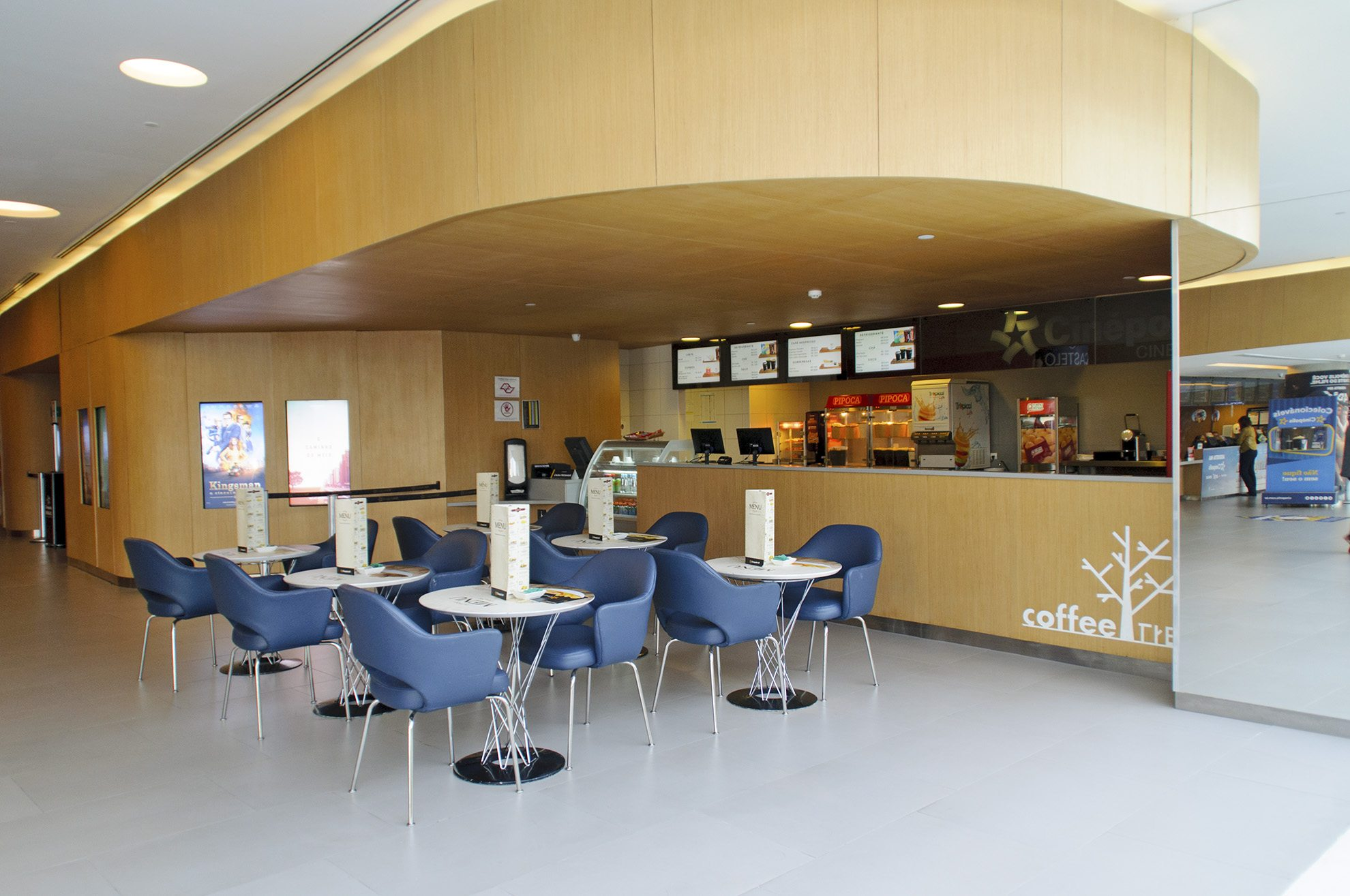 The Coffee Tree at the Cinépolis JK Iguatemi in São Paulo, Brazil