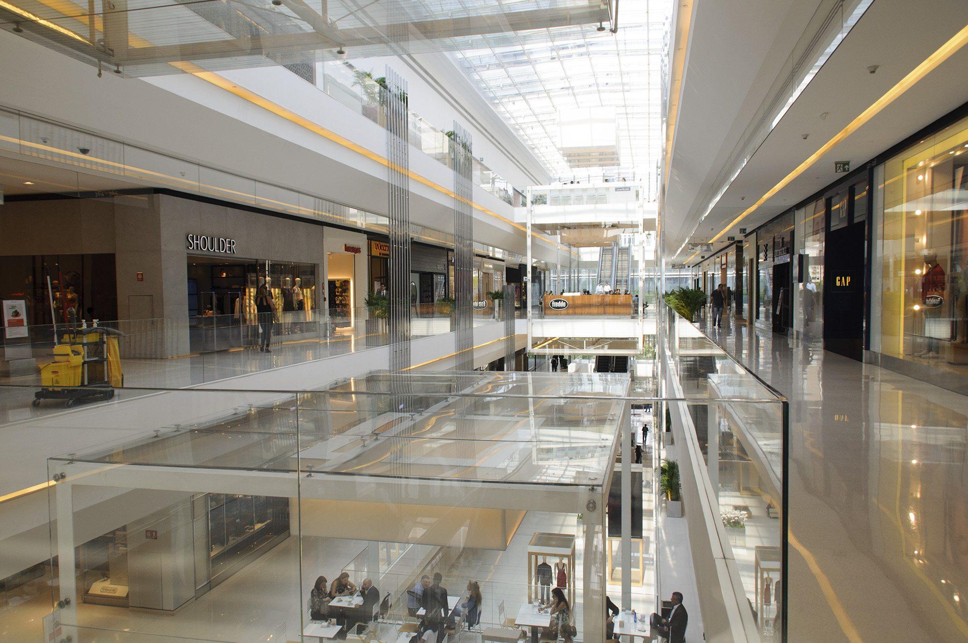 The Shopping JK Iguatemi mall in São Paulo, Brazil