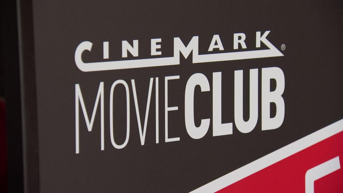Cinemark MovieClub Signage