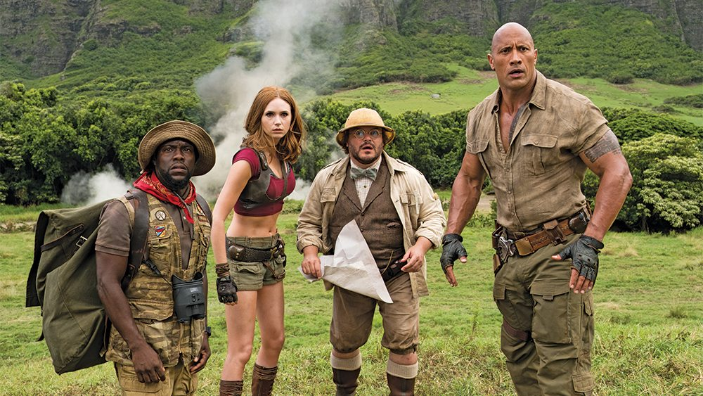 Jumanji: Welcome to Amazon Prime Members. (photo: Sony Pictures)
