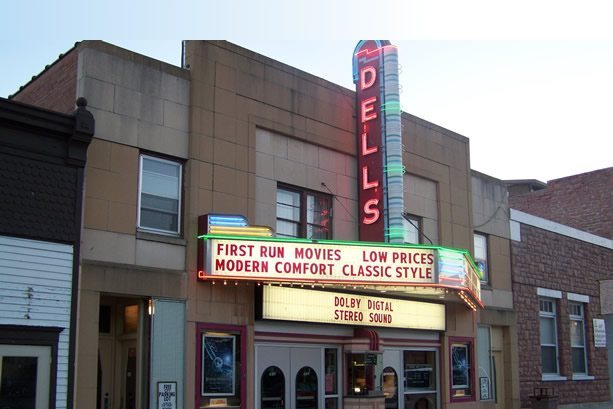 Dells Theatre - won't be showing any Jedis. (photo: Logan Luxury Theatre)