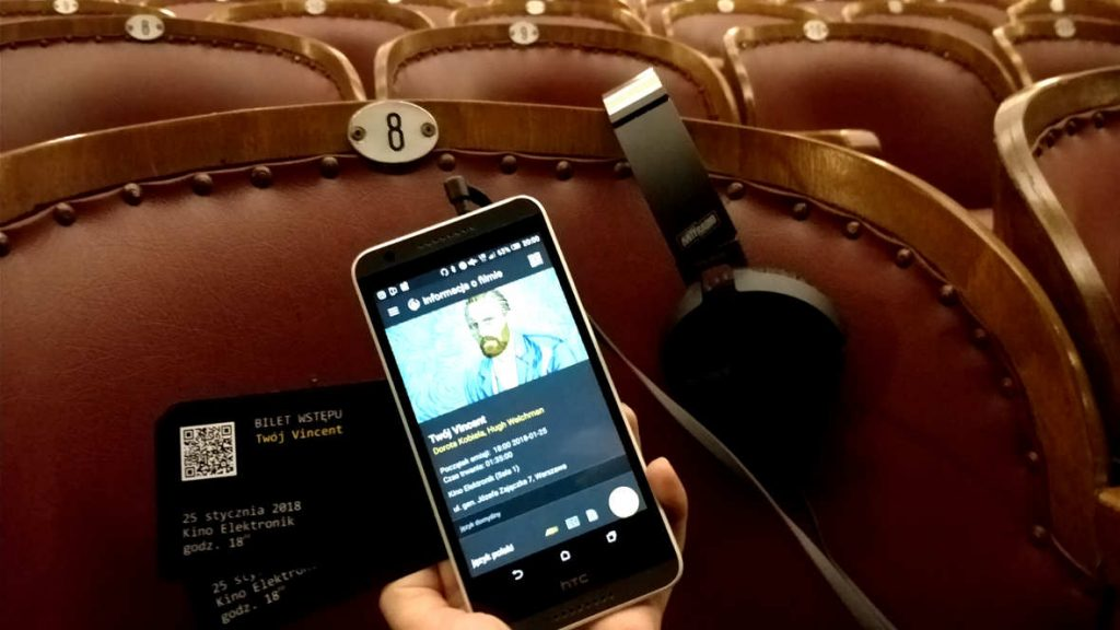 The AudioMovie can help blind audiences. (photo: AntyRadio)