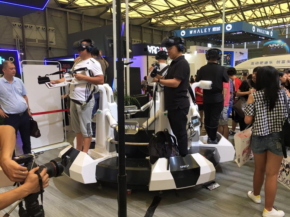 VR comings to cinemas in China.