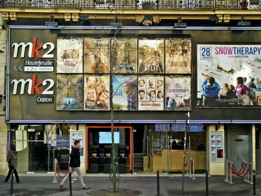 MK2 Odeon in Paris - got its revenge on CNC. (photo: Patrick von Sychowski / Celluloid Junkie)
