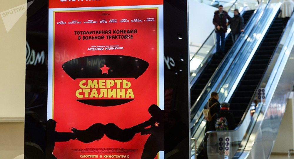 """The Death of Stalin"" - so funny they banned it in Russia."