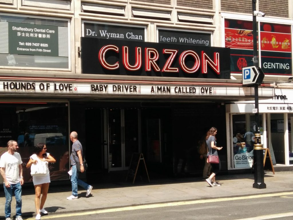 Curzon Soho is getting a refurb. (photo: Patrick von Sychowski / Celluloid Junkie)