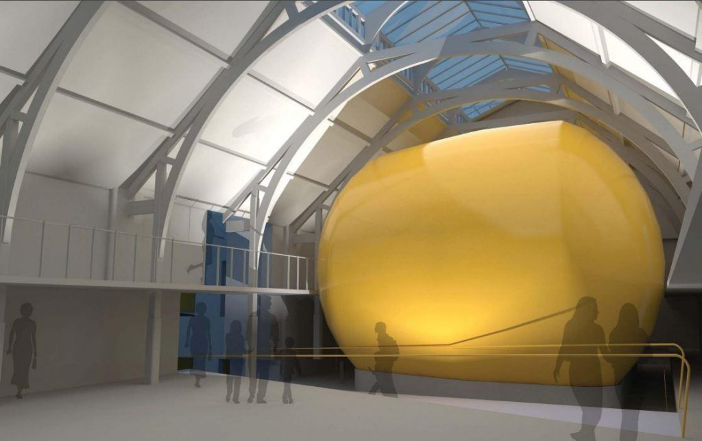 Curved screen? Interior view of the Curzon Ladywell cinema plans. (image: artist's impression)