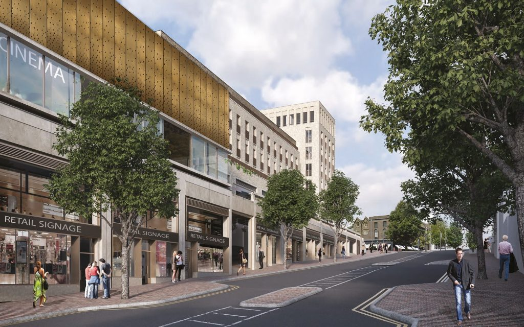Mount Pleasant scheme will have a 'boutique' three screen cinema run by Everyman. (image: artist's impression)