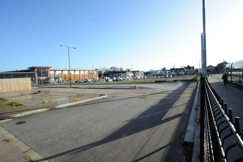 Land in Beeston where a cinema could come. (photo: Nottingham Post)