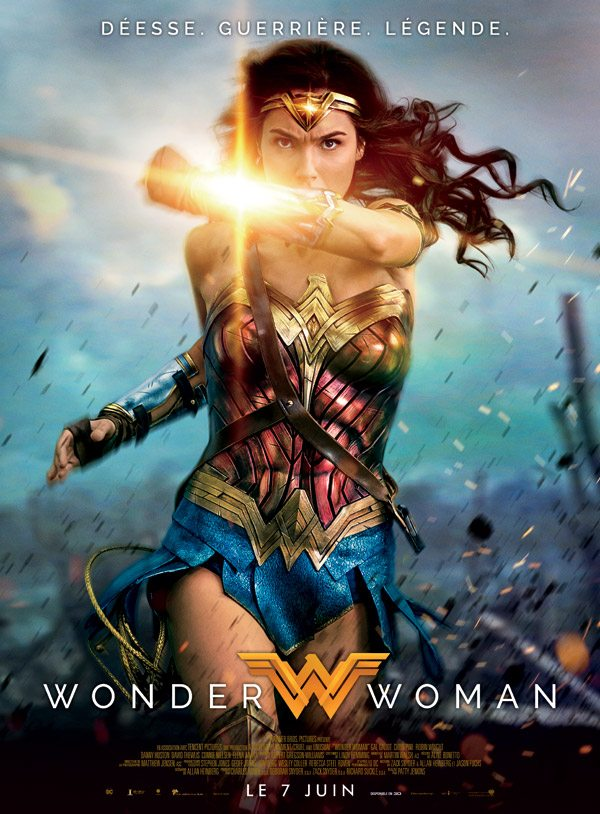"""Wonder Woman"" - one of the posters for sale at Kinepolis. (image: WB)"