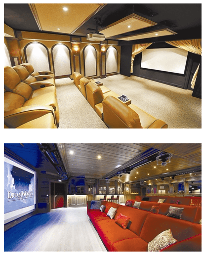 Luxury private cinemas in China. (image: biz.zjol.com.cn)