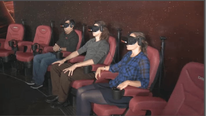 Cineplex partners D-Box for VR. (image: CTV)