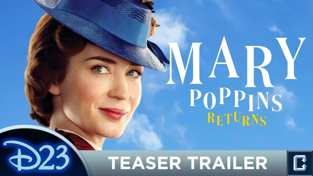 """Mary Poppins Returns"" in December. (image: Disney)"