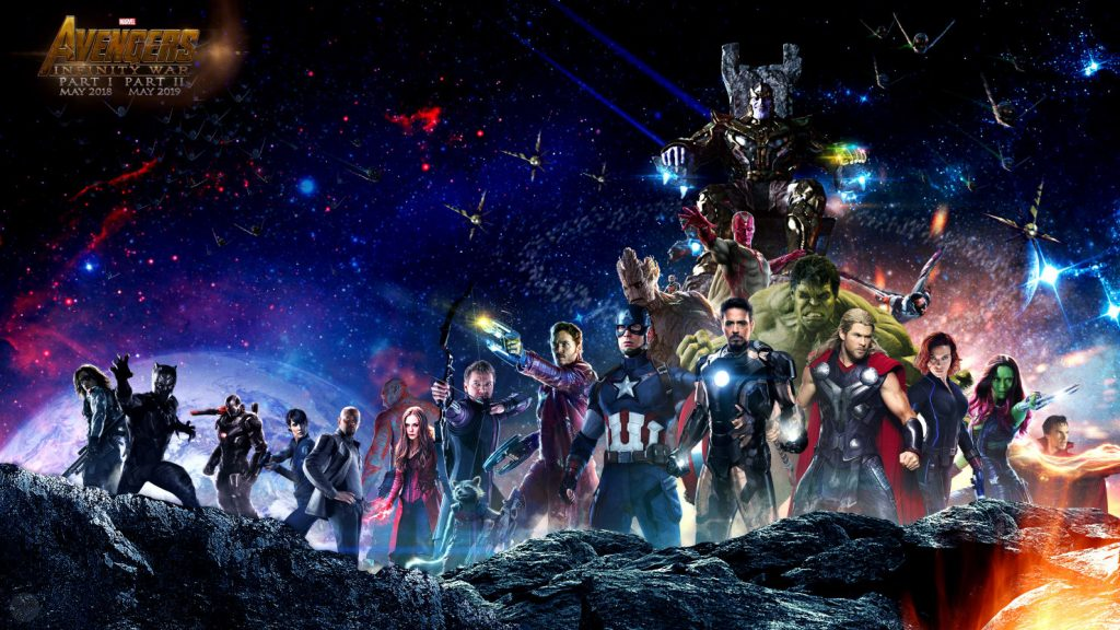 """""""Avengers: Infinity War - Part I"""" - leading the charge for 2018."""