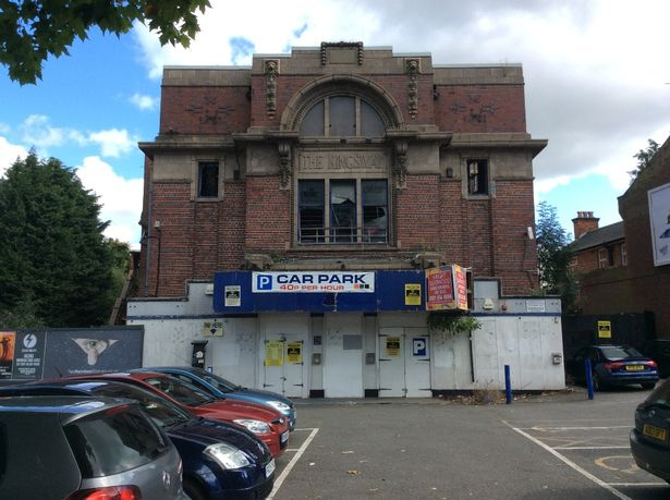 Kingsway - once and future cinema? (photo: Birmingham Post)