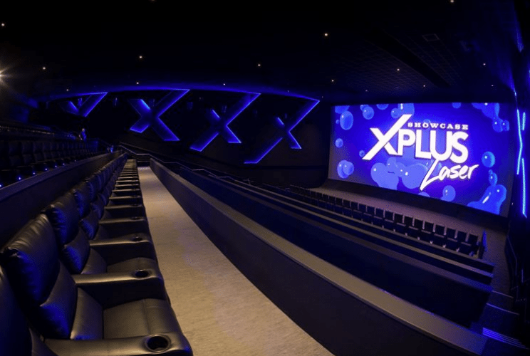 Showcase Bluewater Kent's new laser projection screen and recliners. (photo: Kent Online)