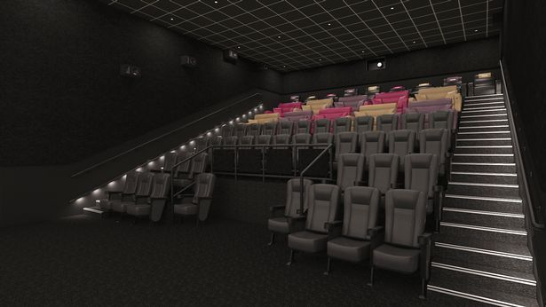 Empire Cinema Sutton - with seats in place. (image: Empire Cinemas)