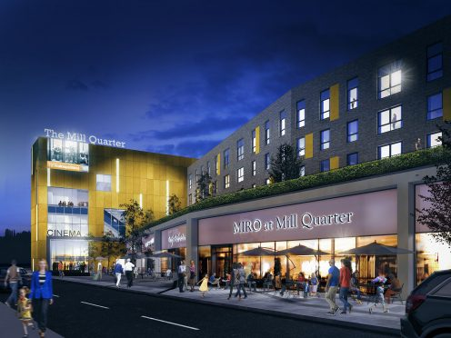 The Mill Quarter, Perth. (image: artist's impression)