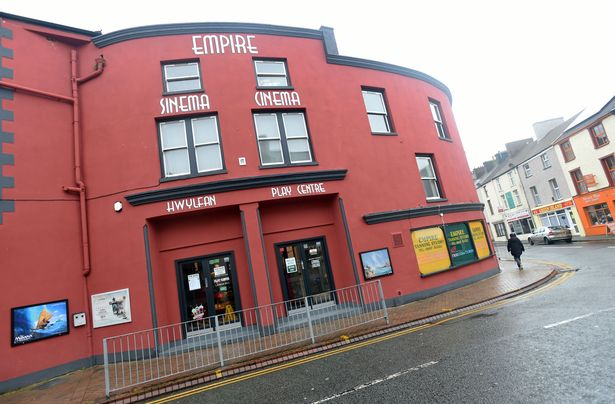 Holyhead's Empire Cinema is closed for now. (photo: Daily Post)